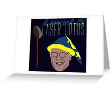 Community - Pierce, Laser Lotus Greeting Card