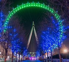 London Eye by Sue Martin
