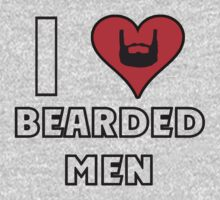 I Love Bearded Men T-Shirt