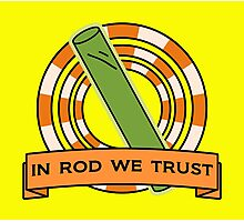 The Simpsons: In rod we trust Photographic Print