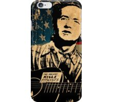 Woody Guthrie 1 iPhone Case/Skin