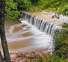 Anderson Falls, Indiana by Kenneth Keifer