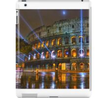 Coliseum at Night iPad Case/Skin