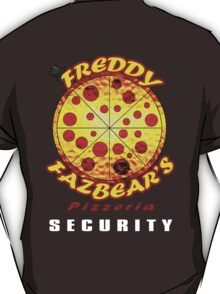 Official Employee of Freddy Fazbear's Pizzeria T-Shirt