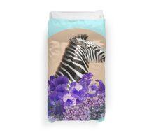 Zebra Beauty Duvet Cover