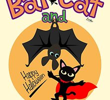 Bat and Cat by BATKEI