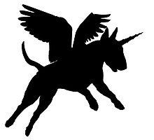 Magic Bull Terripegacorn! by stellarmule