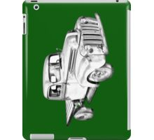 1947 Ford Flat Bed Pickup Truck Illustration iPad Case/Skin