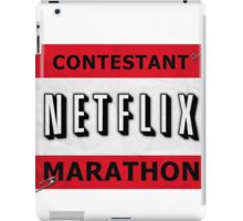 Netflix Marathon iPad Case/Skin