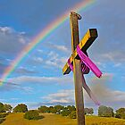 Easter Cross  in the Foothills  by John Butler