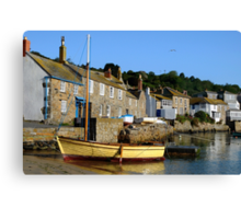 Another from that Morning at Mousehole, Cornwall Canvas Print