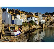 Early Morning at Mousehole, Cornwall Photographic Print