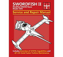 Swordfish Service and Repair Manual Photographic Print