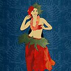 Polynesian Dance by Janet Carlson