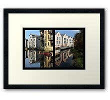 Totnes Past and Present Framed Print