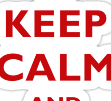 Keep Calm And SharePoint Sticker