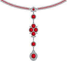 Ruby Enchantment Necklace by eldonshorey