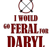 Feral for Daryl by bellamorte1