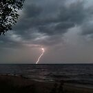 Lake Superior Lightning by jrier