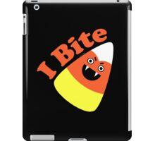 I Bite Halloween Candy Corn  iPad Case/Skin