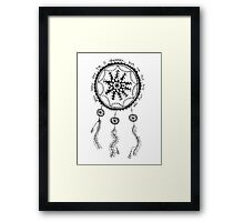 "Dreamcatcher - ""You May Say I'm A Dreamer, But I'm Not The Only One"" Framed Print"