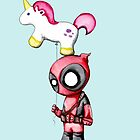 Merc with a Unicorn by LVBART