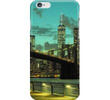 Brooklyn Bridge and Manhattan iPhone Case/Skin