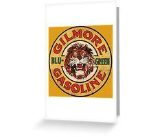 Blu-Green Gilmore Gasoline Greeting Card