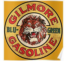 Blu-Green Gilmore Gasoline Poster