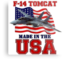 F-14 Tomcat Made in the USA Metal Print