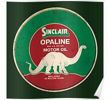 Sinclair Opaline Motor Oil Poster