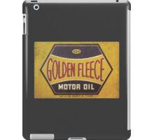 Golden Fleece Motor Oil iPad Case/Skin