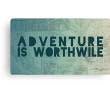Aristotle: Adventure Canvas Print