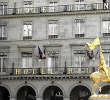 Hotel Regina, Paris, France by Neroli Henderson