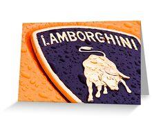 An Italian Bull Greeting Card