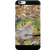 Tree-Snake Dinner - Nature's Cycle of Life iPhone Case/Skin