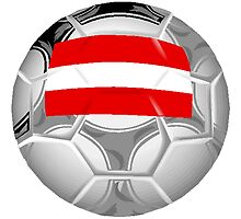 Austria Soccer Ball by kwg2200