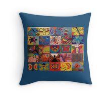 Mariposas Throw Pillow