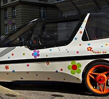 A Floral Car by Ikramul Fasih