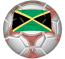 Jamaica Soccer Ball by kwg2200