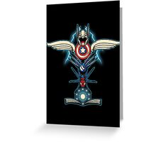 Heroes Totem Greeting Card