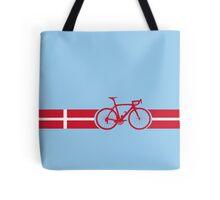 Bike Stripes Danish National Road Race Tote Bag