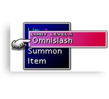 Somethimes you just need to Omnislash! Canvas Print
