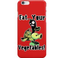 Eat Your Vegetables! iPhone Case/Skin