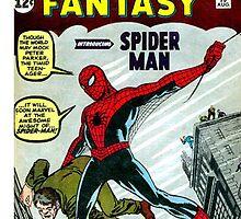 amazing fantasy, spiderman, comic book, marvel by LouieThomas