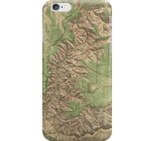 Vintage Map of The Grand Canyon (1926) iPhone Case/Skin
