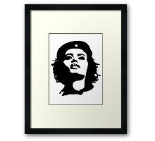 Girls to the front! Framed Print