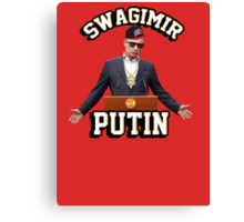 Swagimir Putin Canvas Print