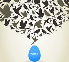 Birds from egg by Aleksander1