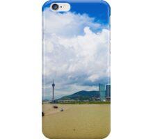 Macau cityscape iPhone Case/Skin